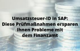 Umsatzsteuer ID in SAP